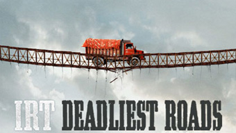 Ice Road Truckers-Deadliest Roads